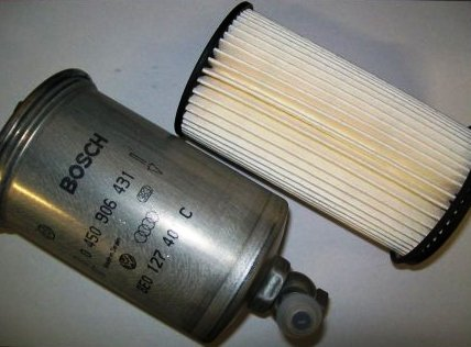 Купить Фильтр топливный на Ауди-Фольксваген   в магазине «Скорпио»
