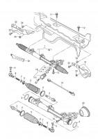 Купить Рулевая тяга на Ауди-Фольксваген   в магазине «Скорпио»